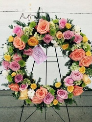 Sympathy Wreath  from Susan's Florist in Louisville, KY